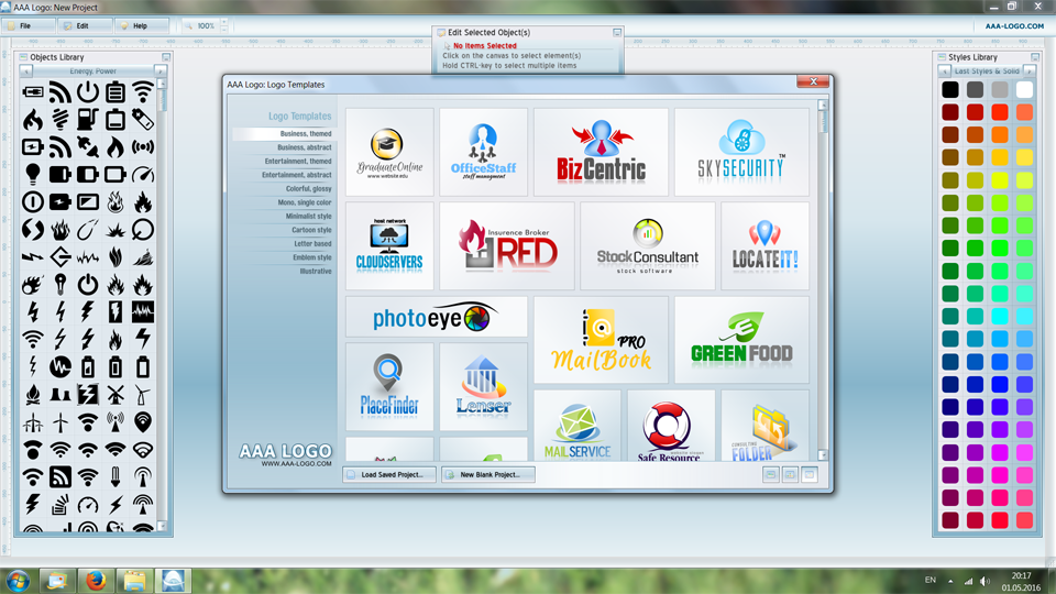 Click to view AAA Logo Design 5.0 screenshot